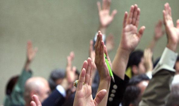 خلاف وتدافع بالأيدي خلال اجتماع تحالف القوى العراقية لاختيار رئيس الكتلة البرلمانية
