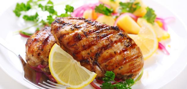 طريقة دجاج مشوي بالبهارات الحارة