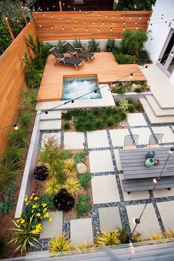 12 Great Ideas For A Modest Backyard: بالصور افكار لعمل اجمل جلسات خارجية في فناء المنزل حصري