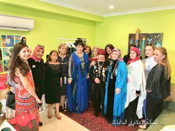 افتتاح المعرض الفني الشخصي، للفنانة الدكتورة اياد الحكاك