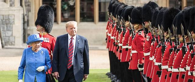 Trump's UK visit cost British taxpayers nearly £18m in extra police security