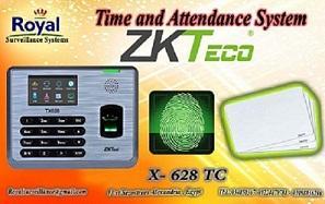 ماكينة الحضور والانصراف بالبصمة و الكارت للمنشأت الادارية X628 TC  524700155