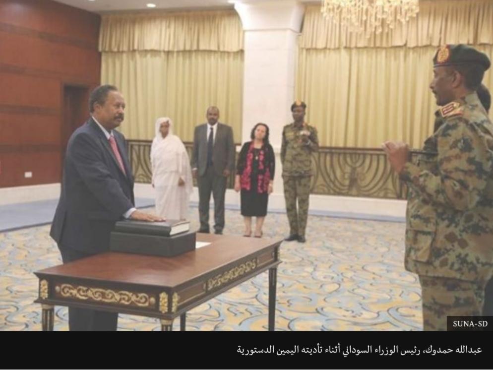 عبد الله حمدوك رئيس وزراء السودان ٢٠١٩ 346129871