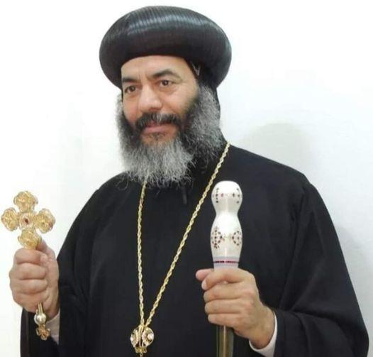 الانبا كاراس الأسقف العام للمحلة سافر السماء